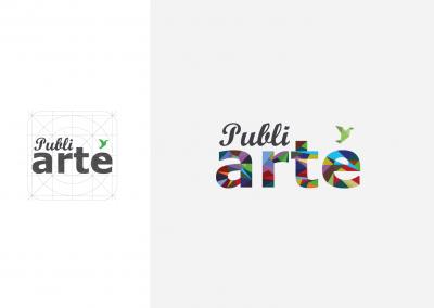 Logotipo Publiarte Reticula