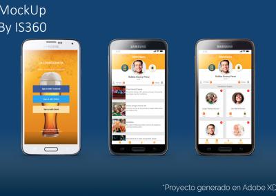 Diseño UI/UX para App Eventos Sociales