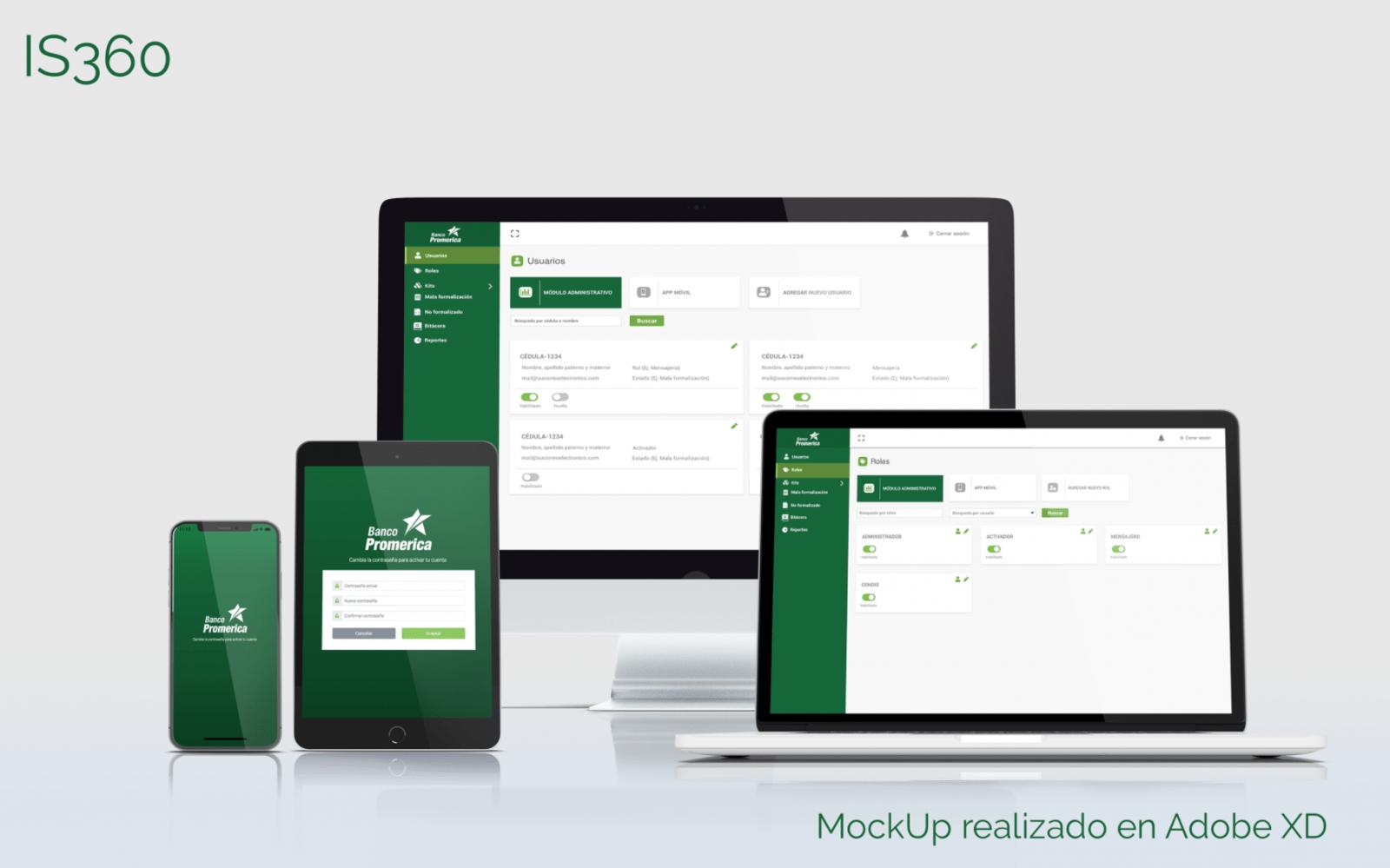 Diseño UI UX para sitio web